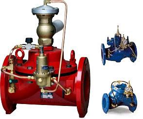 Регулирующие клапана DOROT 100 300 500 QR