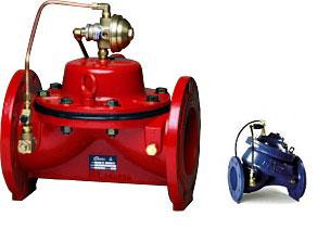 Регулирующие клапана DOROT 100 300 500 RC